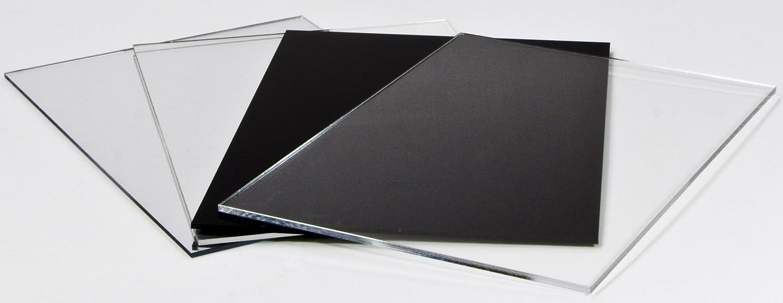 Acryl-Zuschnitt//Plexiglas-Platte schwarz 3mm XT 60 x 40 cm