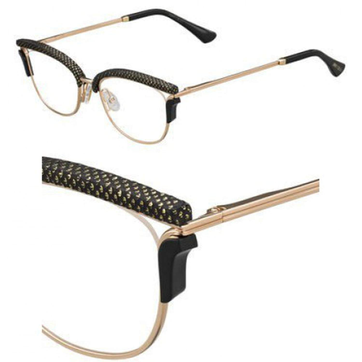 9366272ff3bb JIMMY CHOO Eyeglasses 169 0PSW Gold Copper at Amazon Women s Clothing store