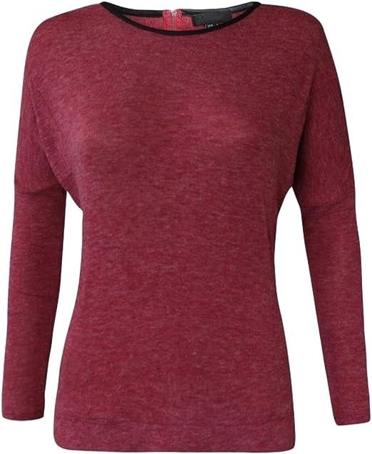 Ladies ROLL NECK winter JUMPER maroon deep purple sizes 8 12 14 NEW FREE POST