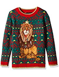 Boys Ugly Chrismas Sweater Animals
