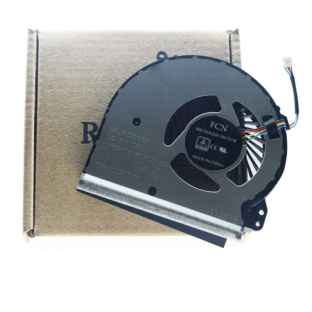 Cooler para HP 17-X 17-BS 17-Y 17-AK 17-AK000 17-AK010NR 17-AK061NR 17-AK013DX 17-BS022NR 17-bs061st 17-x051n 17-x116dx