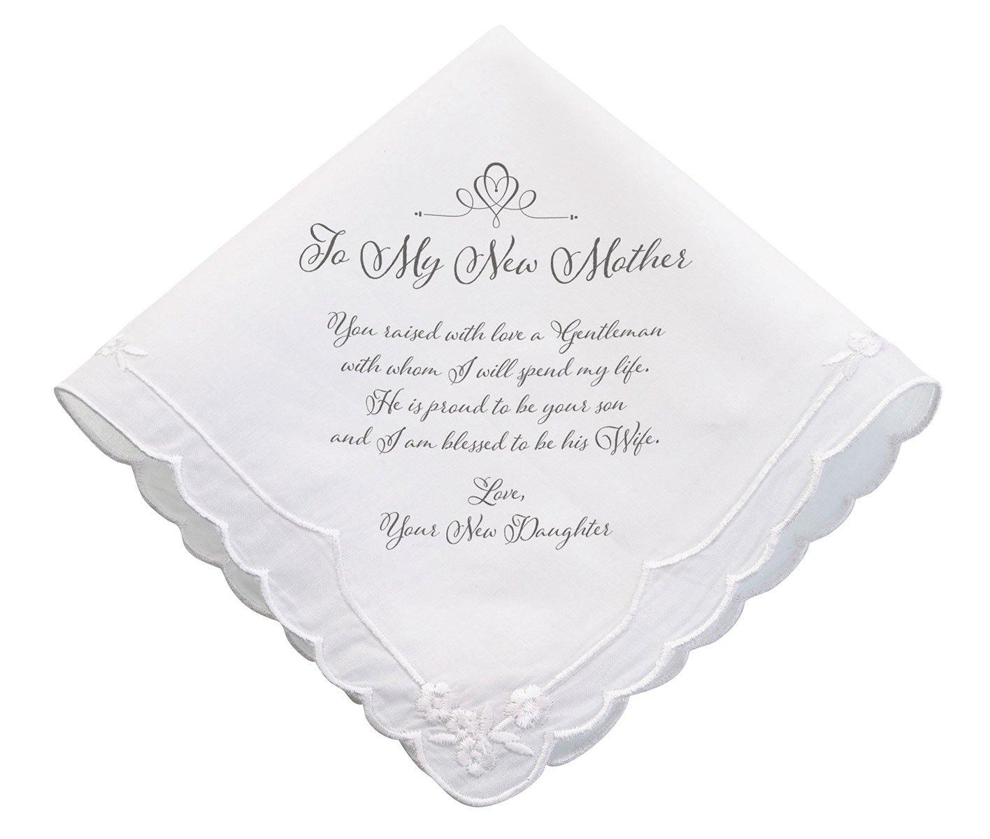 Lillian Rose New Mother verse Wedding Gift Hankie