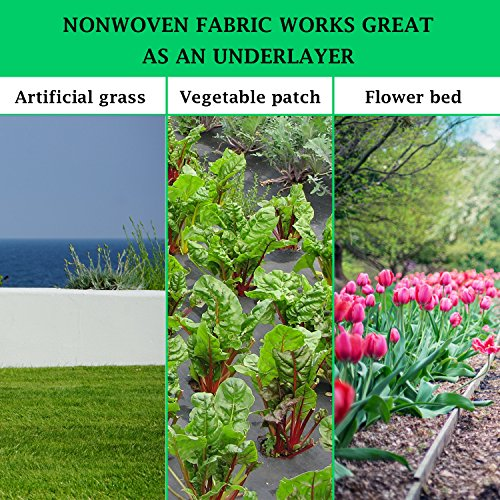 landscape fabric weed fabric weed barrier landscape fabric weed control fabric garden. Black Bedroom Furniture Sets. Home Design Ideas