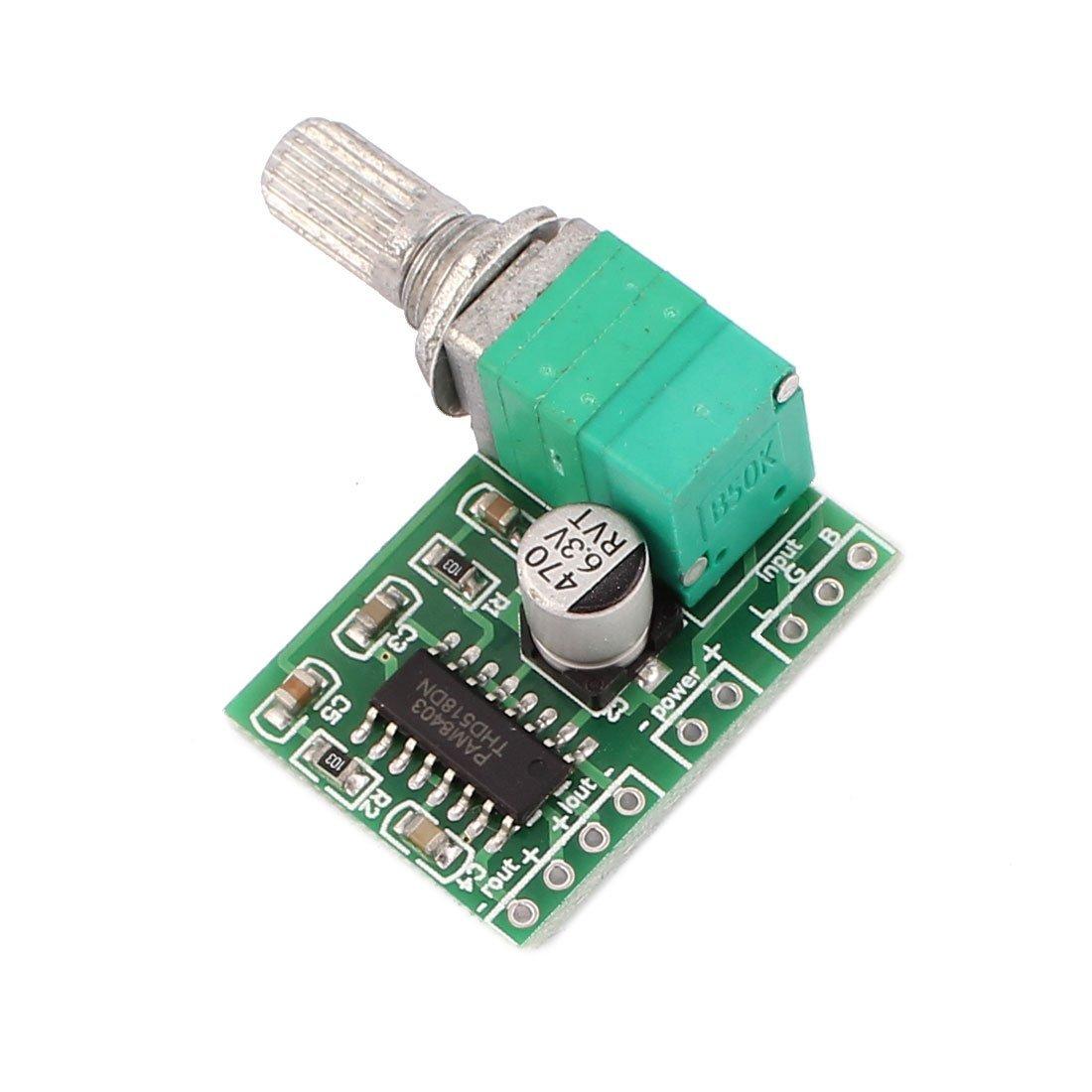 Amazon.com: eDealMax PAM8403 5V Mini Digital Power Amplificador Aplicar Junta Módulo Amplificador: Electronics