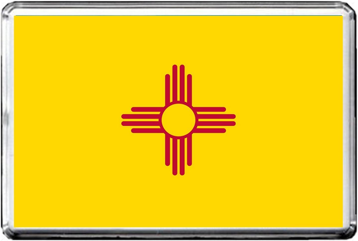 0192 NEW MEXICO FLAG FRIDGE MAGNET STATE OF USA FLAG REFRIGERATOR MAGNET
