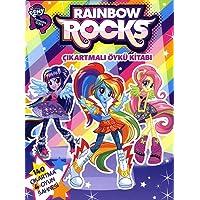My Little Pony - Rainbow Rocks Çıkartmalı Öykü Kitabı: 140 Çıkartma 4 Oyun Sahnesi