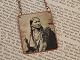 Native American necklace Pretty Nose Cheyenne Native American Jewelry mixed media jewelry