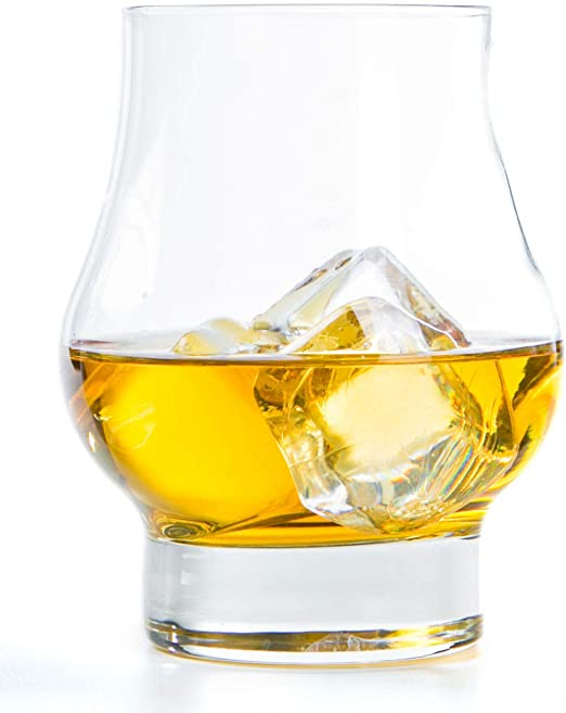Reserve Whiskey Glasses by The Elite Core Made in USA Set of 2 10.5oz