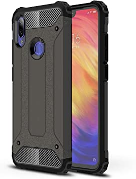 Funda para Xiaomi Redmi Note 7 Estuche Cubierta de Armor Rugged PC Dura y Silicona TPU Carcasas y Fundas Compatible con el Case para Xiaomi Redmi Note 7(Bronce): Amazon.es: Electrónica