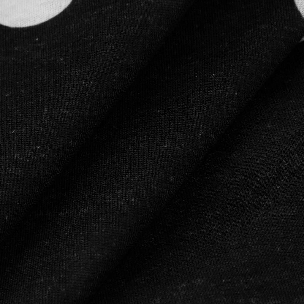 LOPILY Damen /Übergr/ö/ße Kleider Rundkragen Sommerkleider Knielang Kleid Kurzarm Kleid Gepunkteter Kleider Lose Casual Kleider mit Spitze Rand