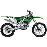Kawasaki KX 450F Green 1/12 Diecast Motorcycle Model by New Ray 58103