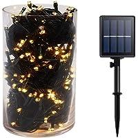 Gr8buy 72ft / 200 LED Outdoor Solar Fairy String Lights for Patio, Garden, Xmas, Bedroom, Holiday Decoration