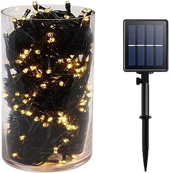 Gr8buy 72ft / 200 LED Outdoor Solar Fairy String Lights