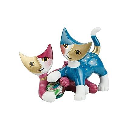 Goebel gatos decorativos Cloe y Ugo