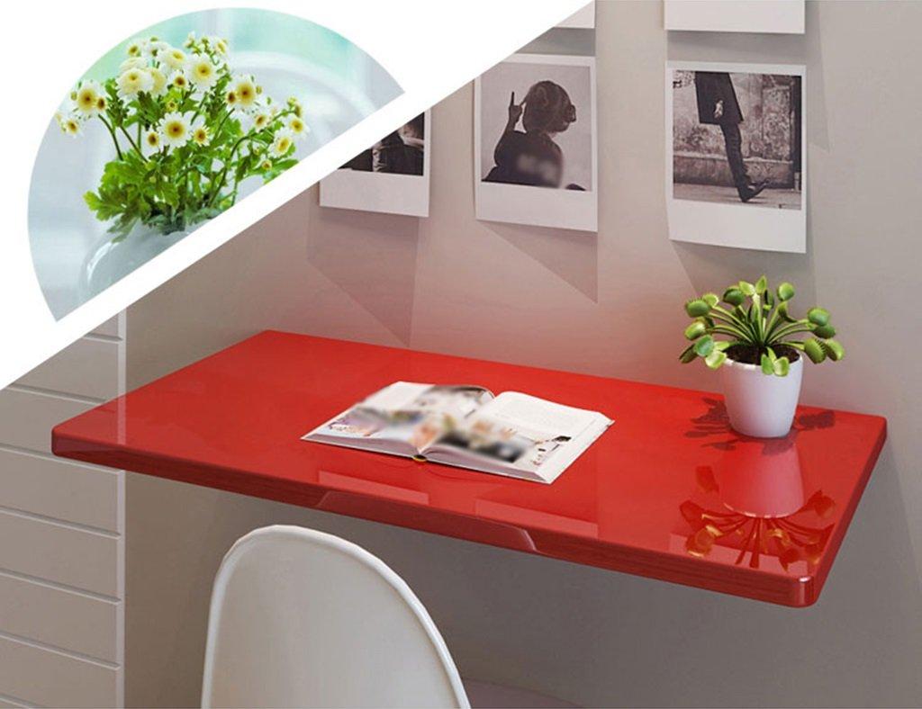 Amazon.de: ZXLDP Computer-Schreibtisch-Lern-Tisch Wand-Laptop ...