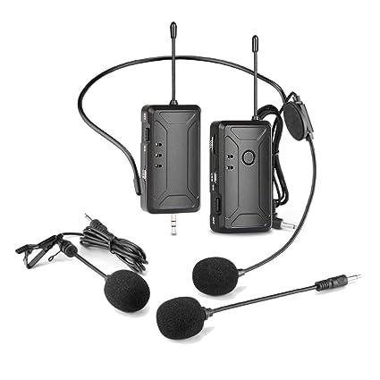 Depusheng - Micrófono inalámbrico para cámaras réflex digitales ...