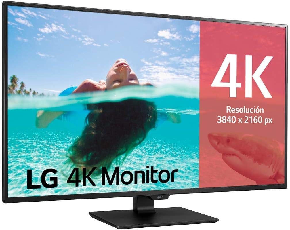 LG 43UN700-B - Monitor Profesional 4K UHD de 108 cm (42,5