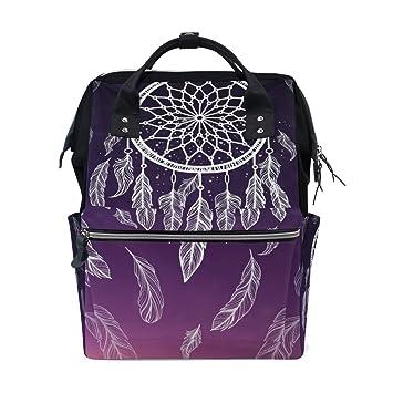 Purple Dreamcatcher Design Backpack