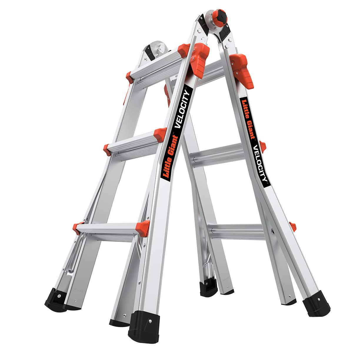 Little Giant Ladders, Velocity, M13, 13 Ft, Multi-Position Ladder, Aluminum, Type 1A, 300 lbs Weight Rating, (15413-001)