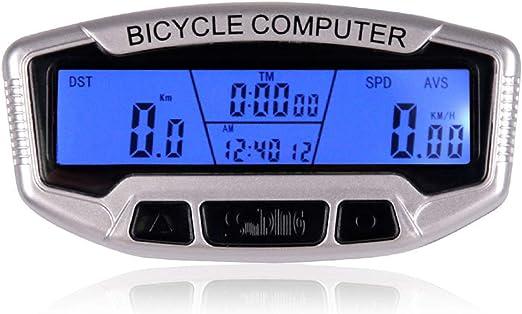 WishY Ordenador para Bicicleta, Velocímetro de Bicicleta ...