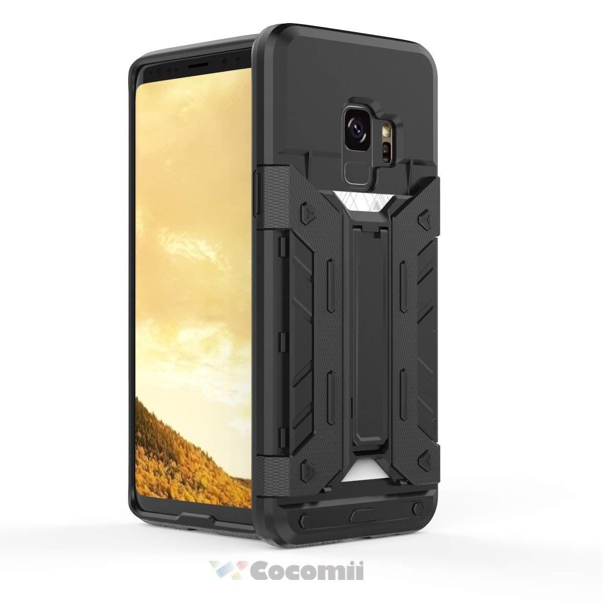 Cuerpo Completo S/ólido Case Carcasa for Samsung Galaxy S9 Militar Defensor Cocomii Commando Armor Galaxy S9 Funda Robusto C.Gold Superior T/áctico Sujeci/ón Antipolvo Antichoque Caja