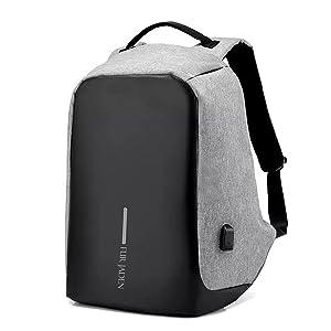 Fur Jaden 15 Ltrs Grey Casual Backpack (BM20_Grey)