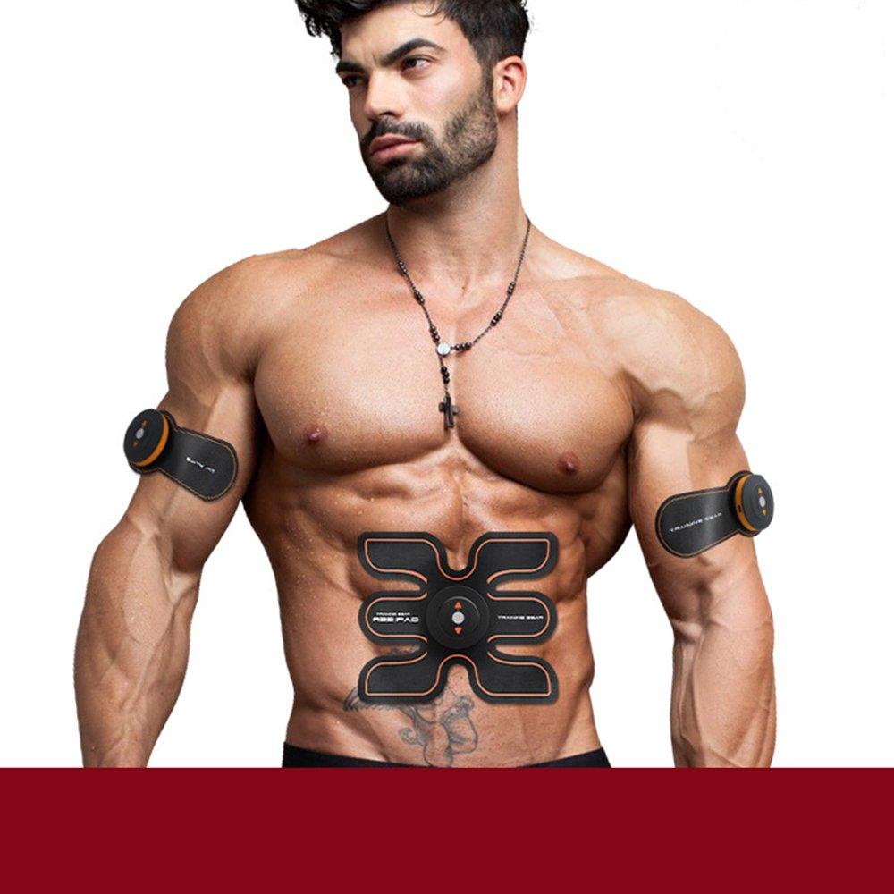 筋肉刺激筋肉コンディショニングベルトファットバーナーデバイス6モードと10レベルの刺激 - ポータブルUSB充電器 - B07PW7VMSJ B07PW7VMSJ, スマイルベッド:c094a784 --- mail.tastykhabar.com