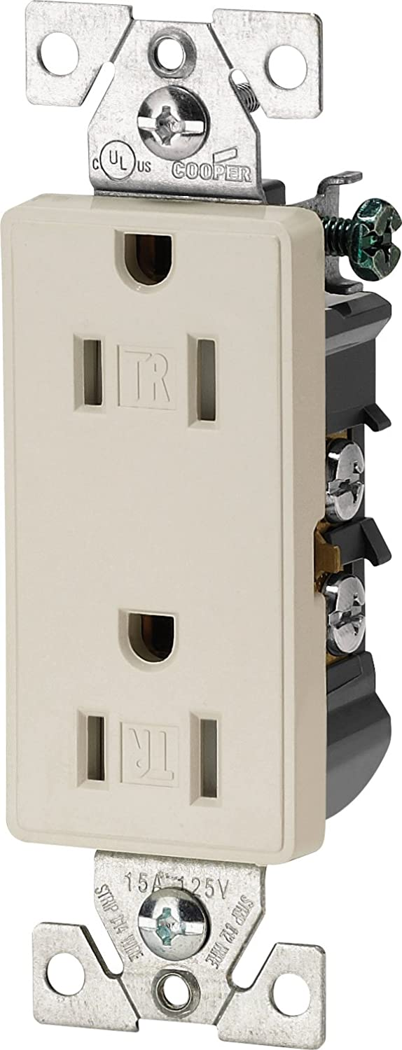 Cooper Wiring Devices Aspire 9505trsg 15a Split Control Tamper Duplex Receptacle Resistant Silver Granite Standard Outlets Amazon Canada