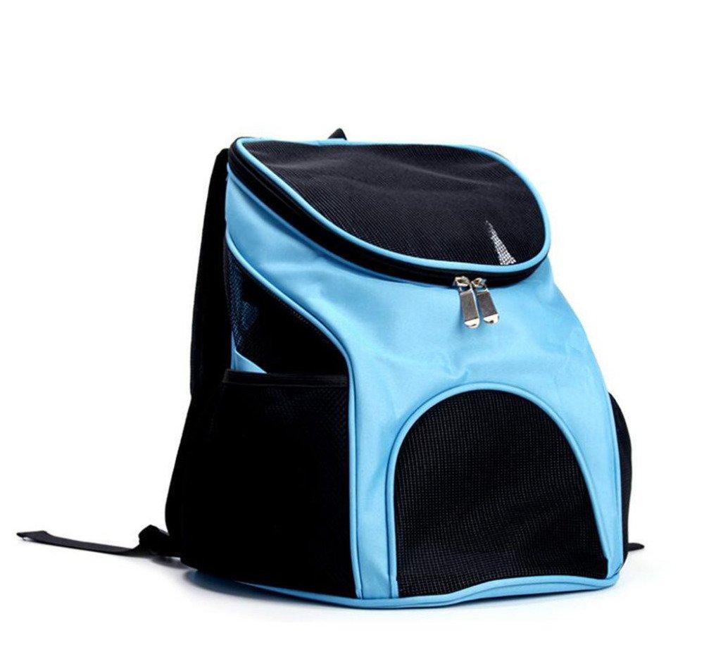 Kaxima Pet Carrier Backpack Pet double shoulder bag out of pocket chest bag 30x31x33cm