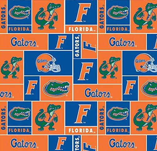 Florida Gators Fleece Fabric - University of Florida Gators Fleece Fabric - 60