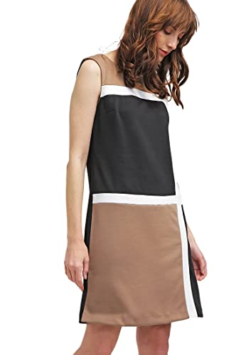 Work Dress Women's Sleeveless A-Line Color Block Casual Business - Anna Field