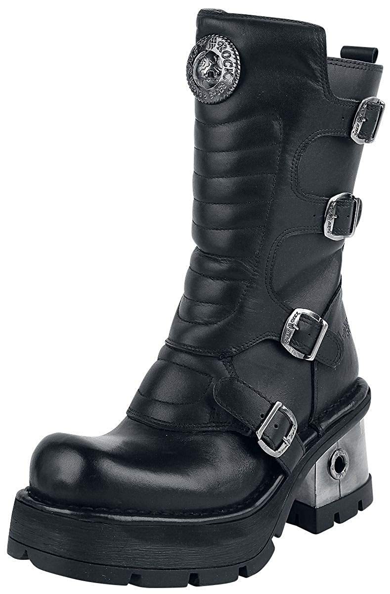 New Rock damen M.373QX-S3 Leather Stiefel