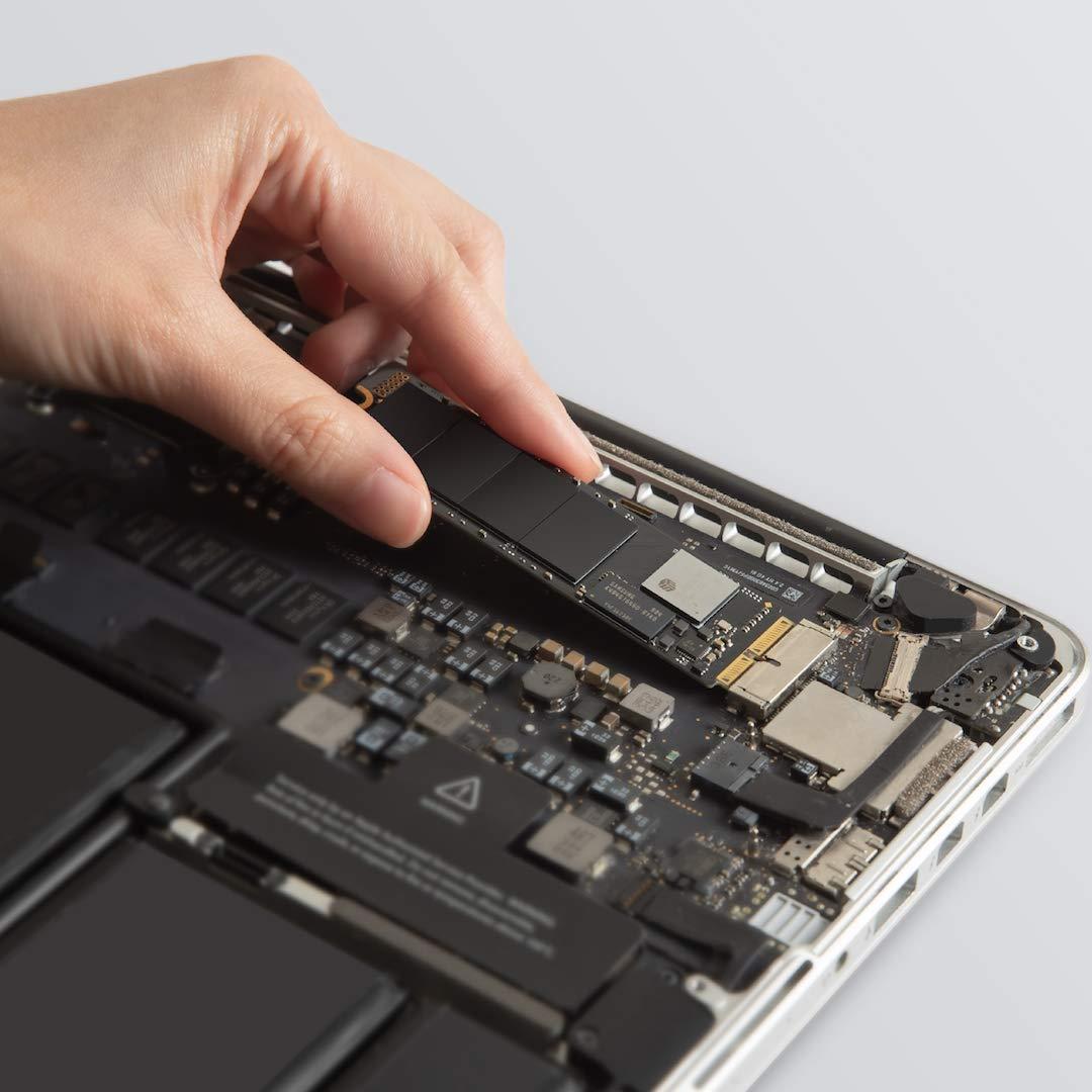 Transcend SSD Solid State Drive da 480 GB senza Custodia Esterna macOS High Sierra o Superiore,TS480GJDM850 JetDrive 850 NVMe PCIe Gen3 x4