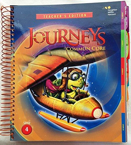 Journeys: Teacher's Edition Volume 4 Grade 2 2014