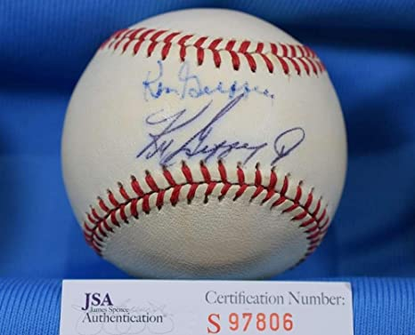 df2b0e1674 Image Unavailable. Image not available for. Color: Signed Ken Griffey Jr.  Ball - SR ...