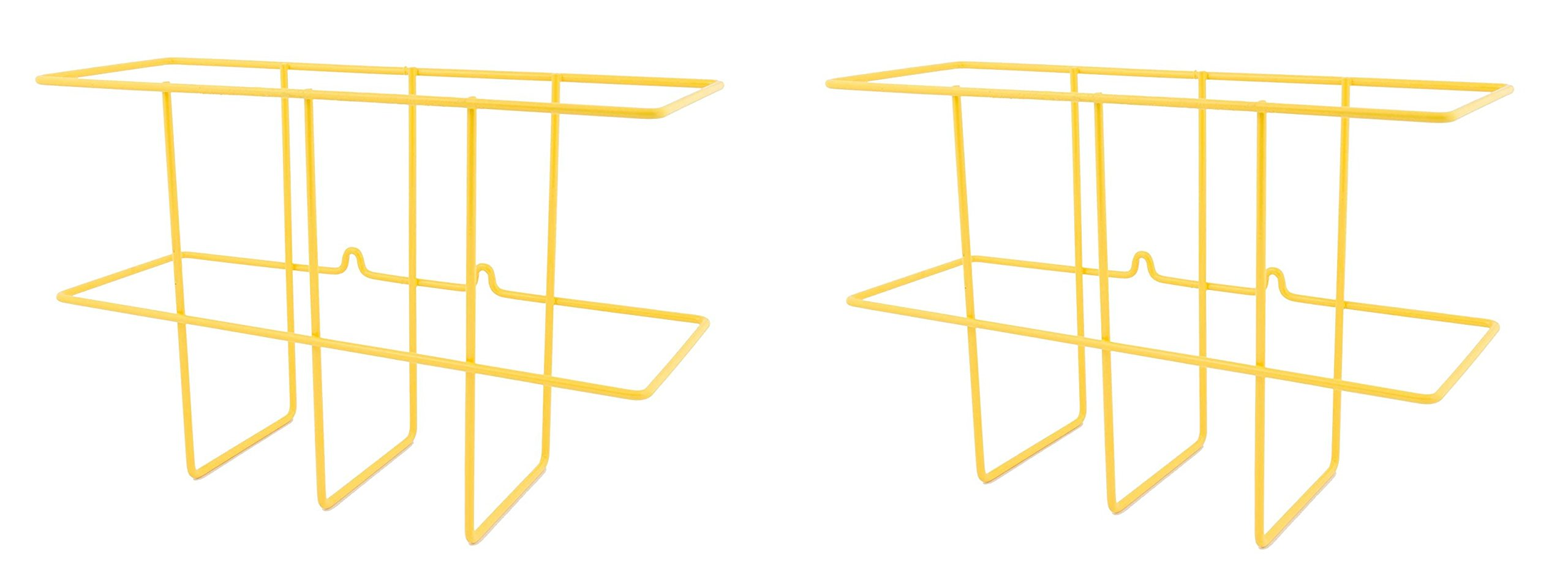 ZING 7199 Eco Binder Holder, Wire Wall Rack, Hardware Included (2-Pack)