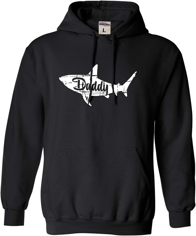 Go All Out Adult Fashion Daddy Shark Sweatshirt Hoodie
