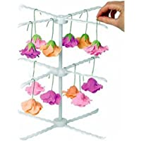 D DOLITY Cake Paste Flowers Stand Cupcake Gum Paste Flowers Drying Rack Holder Hanger