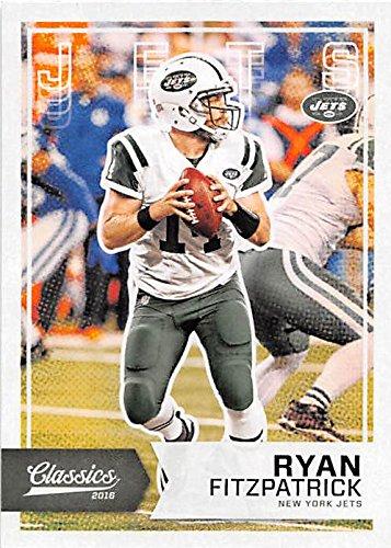 Ryan Fitzpatrick football card (New York Jets QB) 2016 Classics #36