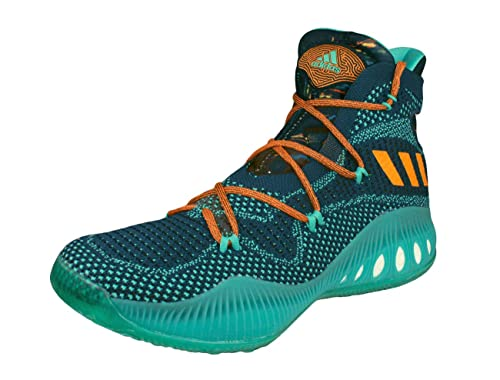 769853d0e7c4 adidas Crazy Explosive Primeknit Mens Basketball Trainers Shoes-Green-13.5