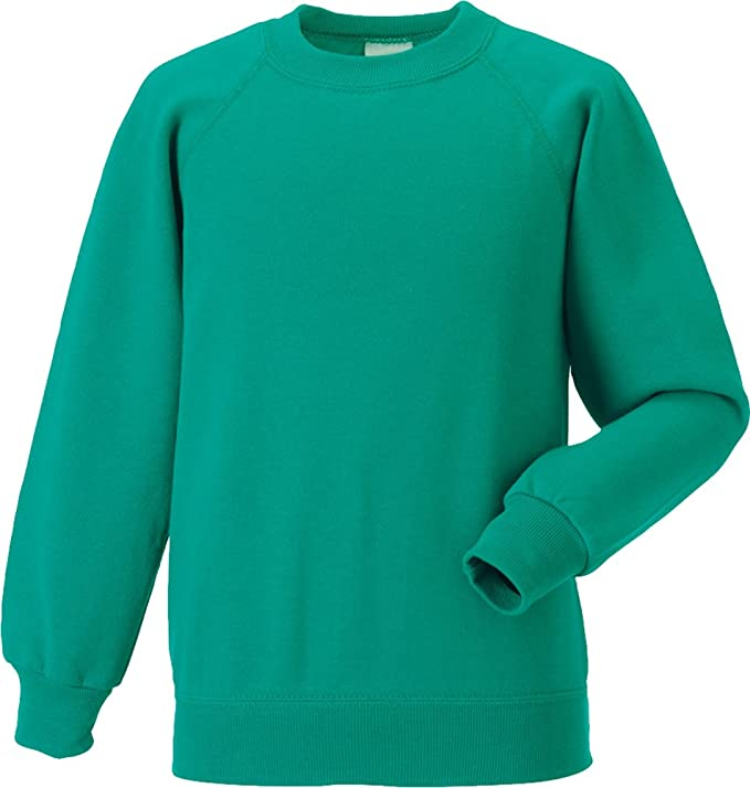 Jerzees diseño de niños Classic algodón Schoolgear sudadera con-Camiseta del equipo de fútbol jersey de puede usar en caliente para niños Jersey: Amazon.es: ...
