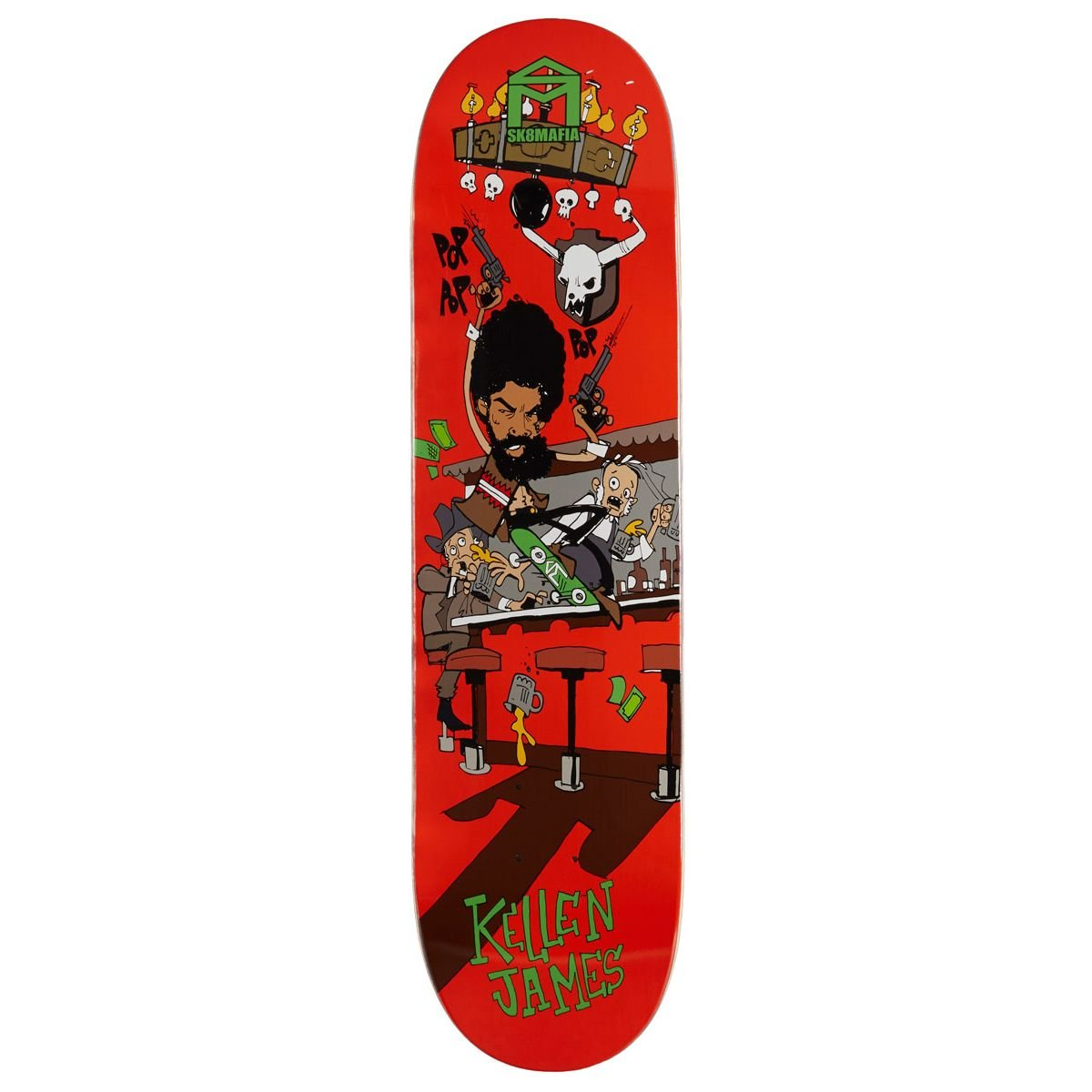 Sk8 Mafia Fun James Skateboard Deck - 8.00''