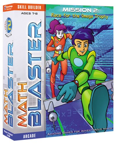 Math Blaster Ages 7-8 (Jewel Case)