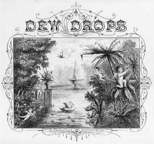 Photo: Dew Drops,Cupid,Swan,Fountain,Cherub,Oliver Ditson,1879