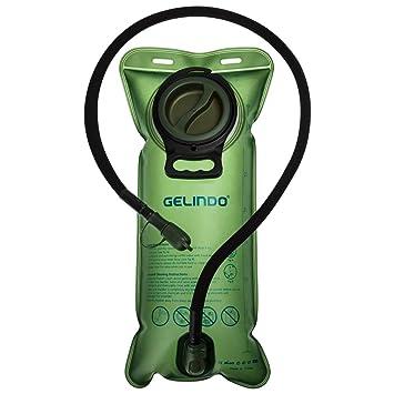 Walking Wandern Camping Laufen Tragbare 2 Liter Trinkblase,Wasserblase,FDA zugelassen,BPA-FREE,TPU Material,f/ür Outdoor-Radfahren
