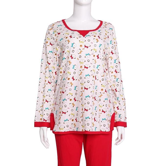 De la moda pijama de dibujos animados/Traje del chándal cómoda impresa/