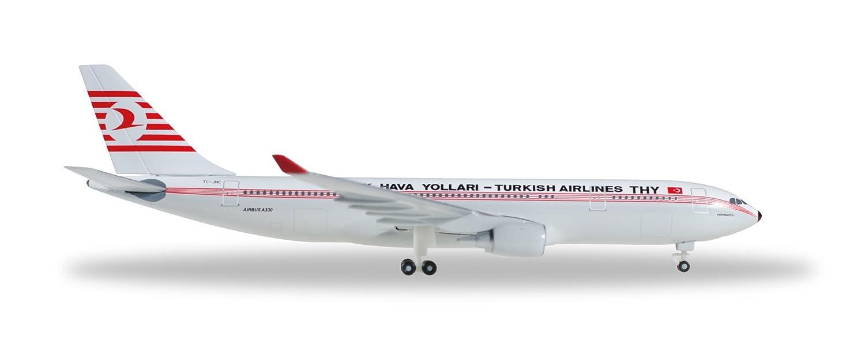 Herpa 529013 A330-200 Turkish Airline Retro