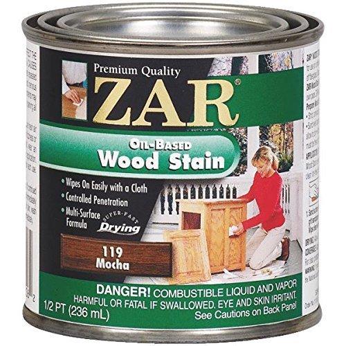 (ZAR 11906 Wood Stain, Danish Walnut/Mocha by ZAR)