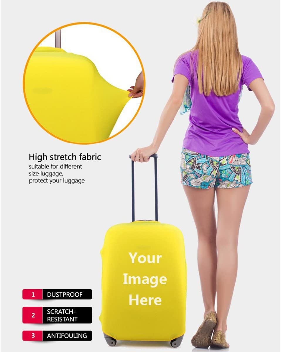 Travel Luggage Covers Printing Suitcase Protector Accept Custom Design