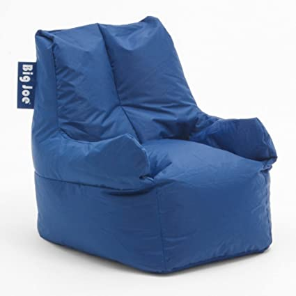 Superbe Big Joe Club 19 Bean Bag Chair Color: Patriot Blue
